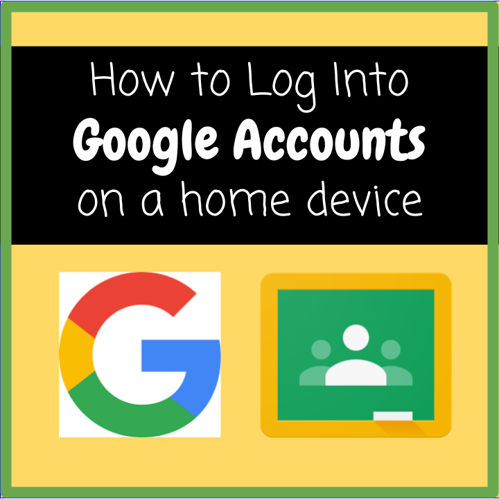 Google Account Access - click for directions