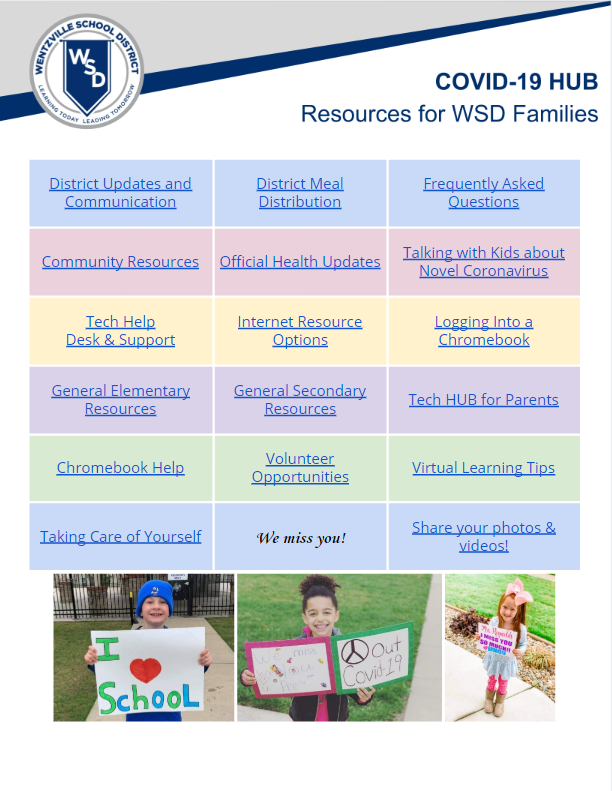 WSD Distrct Covid Resources