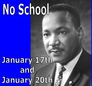 Teacher PD and Martin Luther King, Jr. Day
