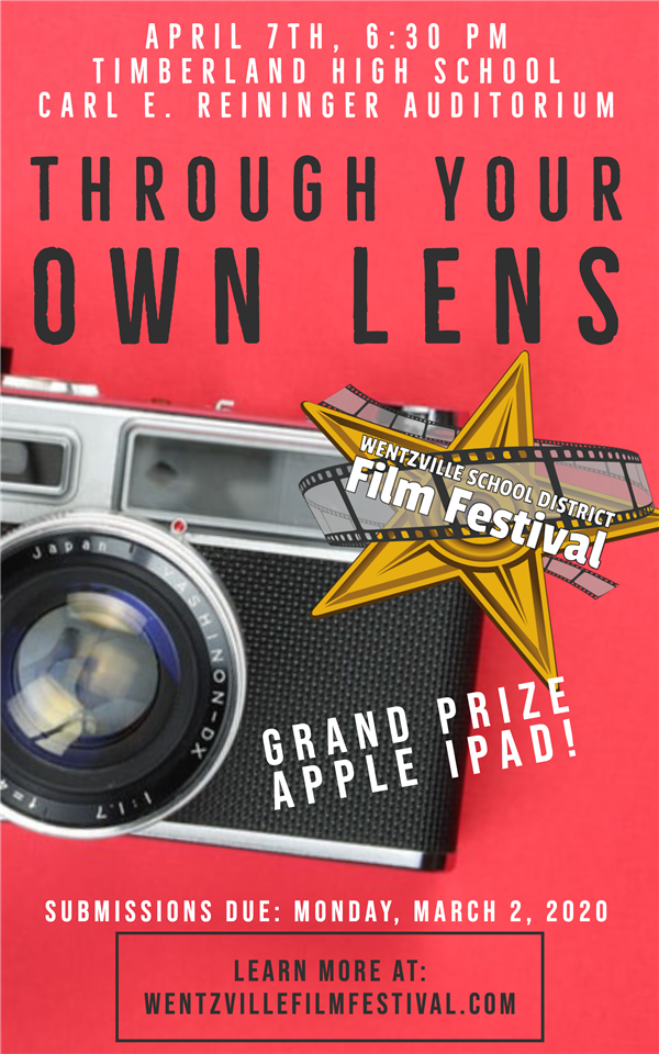 WSD Film Festival April 7th, Submissions Due by March 2nd