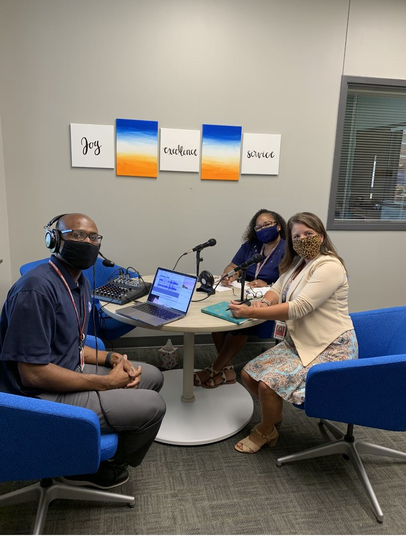 Welcome to Journey Elementary Podcast with Dr. Belton and Mrs. Politte
