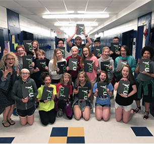 "Four WSD Yearbooks Featured in Herff Jones ""Best-of"" Publication"