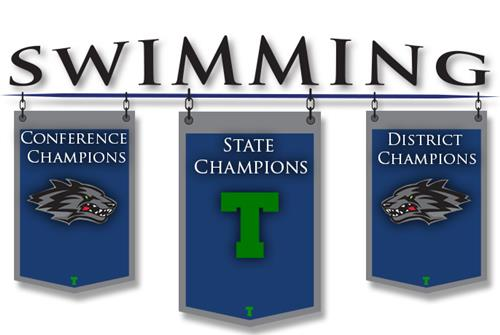 Boys Swimming Banner