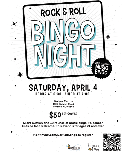 BEC PTO Rock & Roll Bingo-CANCELLED