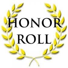 2019-2020 Honor Roll Lists